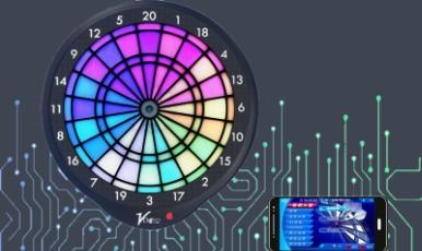 LED Online Dartboard