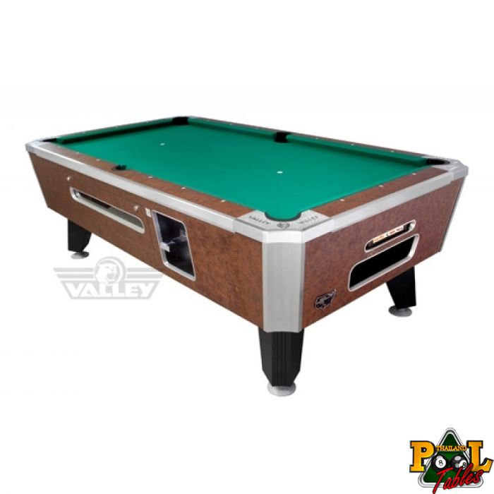 Valley Panther Coin Operated Pool Table 7ft.   Thailand Pool Tables