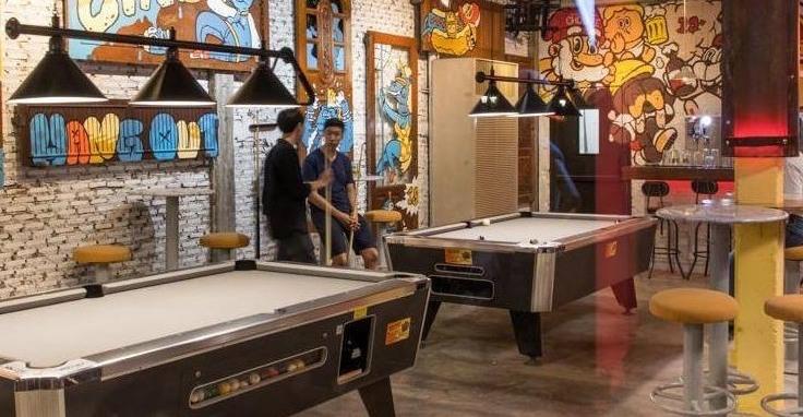 pool table, foosball, air hockey for rent