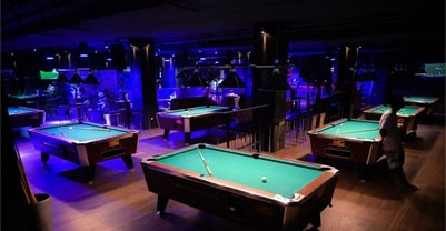 click to see pool tables rental and profit sharing on coin tables