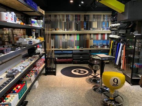 Asia Billiards store location