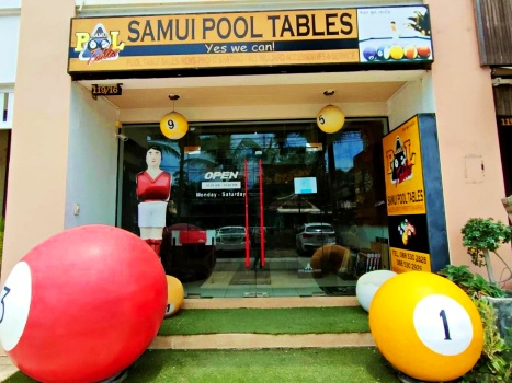 Samui Pool Tables store location